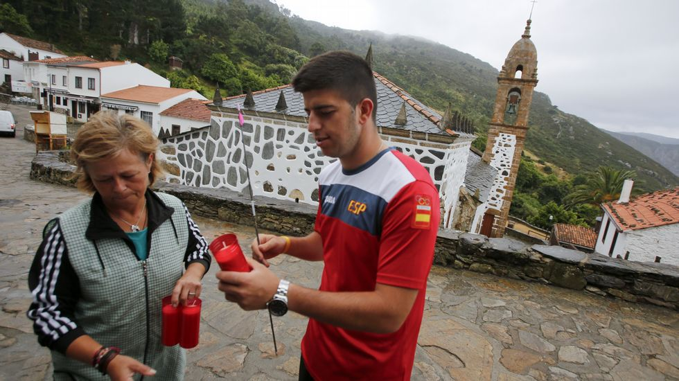 Miguel alvari o visita el santuario de san andr s de teixido - El colmao de san andres ...