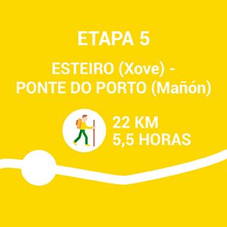 esteiro (xove) - Ponte do Porto (Mañón)