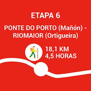 Ponte do Porto (Mañon) - Riomaior (Ortigueira)