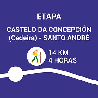 Castelo da Concepción (Cedeira) - Santo André