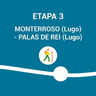 Monterroso (Lugo) - Palas de Rei (Lugo)