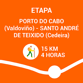 Porto do Cabo (Valdoviño) - Santo André de Teixido (Cedeira)