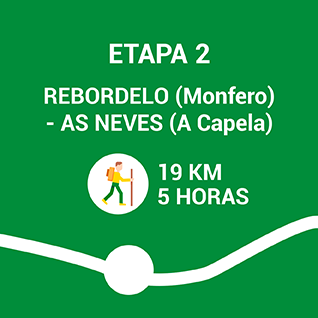 Rebordelo (Monfero) - As Neves (A Capela)