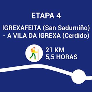 Igrexafeita (San Sadurniño) - A Vila da Igrexa (Cerdido)