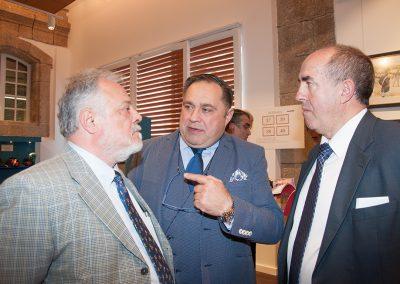 Pedro Blanco, Ramón Tudela y Jacinto Huete