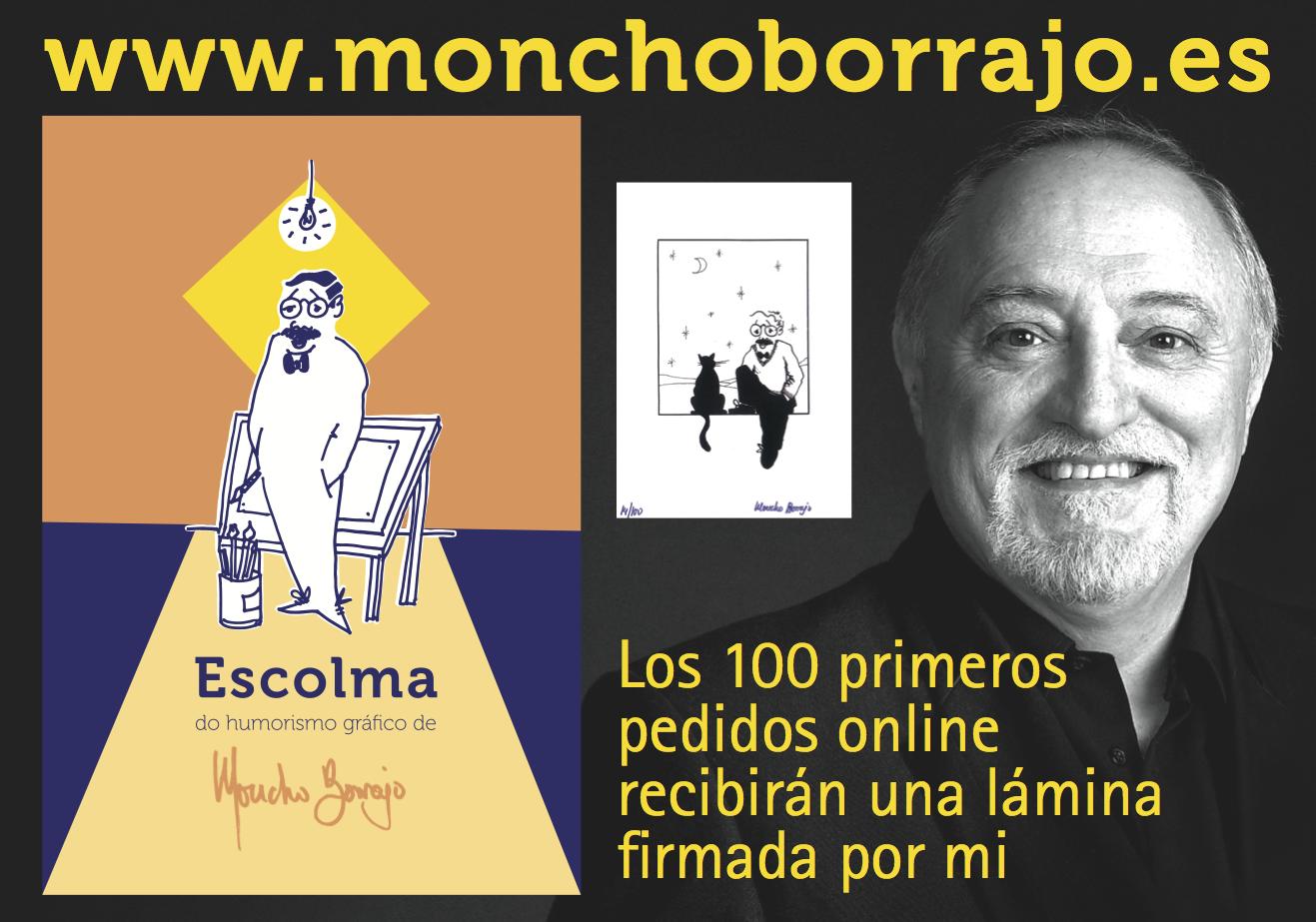 moncho-borrajo-escolma-do-humorismo-gráfico-de-moncho-borrajo-galicia-libro-fundación-santo-andré-de-teixido