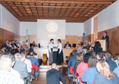 Estrea oficial do Himno por Andrea Pousa