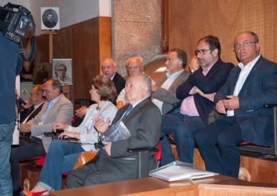 Presentación da nova versión do Himno Galego por Andrea Pousa