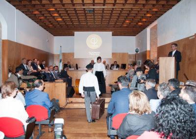 Presentación oficial do Himno de Galicia por Andrea Pousa