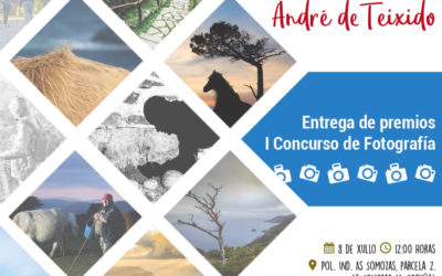 """Data e hora do acto de entrega dos premios aos fotógrafos galardoados no concurso """"Camiño a Santo André de Teixido 2017"""""""