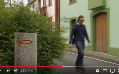 O Camiño Vello promovido pola Fundación Santo André de Teixido no programa A Revista da TVG